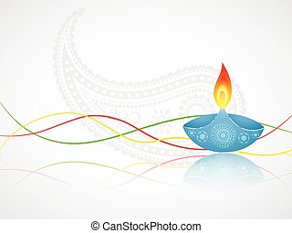 diwali greeting with space for your text