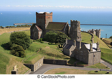 Dover castle England UK