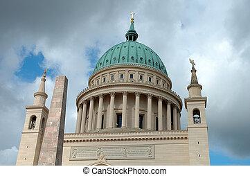 Nikolaikirche in Potsdam Germany - Nikolaikirche (Nikolai...