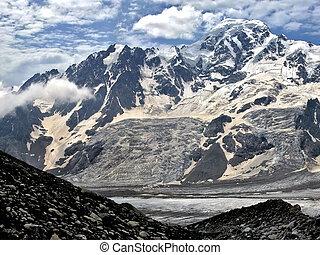 High mountains Caucasus