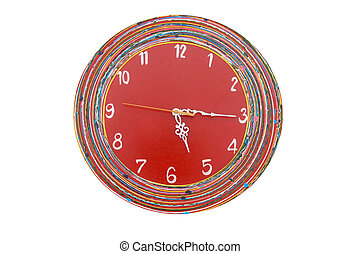 Red green clock