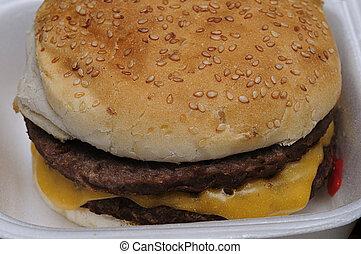 Cheese burger - A Cheese burger