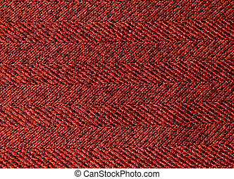 red background, fabric texture