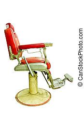 Barber Shop with Old Fashioned Chrome chair