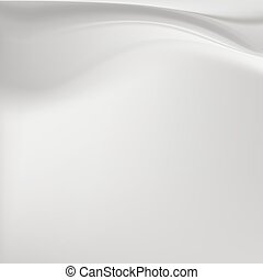 Grey silk background with soft folds - grey milky silk...