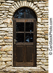 Door - Closed Door, Main Entrance To The House