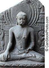 Buddha in Bhumisparsha mudra, from 10th century found in...
