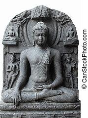 Buddha in Bhumisparsha mudra, from 10th/11th century found...