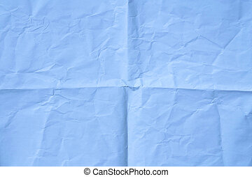 light blue wrinkled paper background