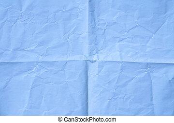 light blue wrinkled paper background