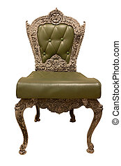 Creen Classic and Luxurious armchair with clipping path