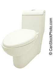 toilet bowl include clipping path - close up toilet bowl...