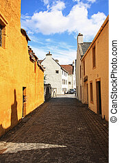 Ancient streets in Culross