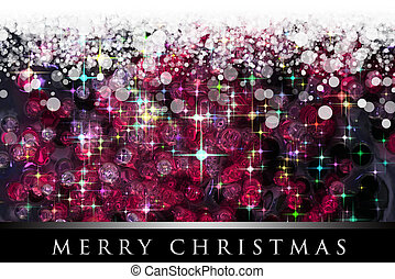 Wonderful Christmas background design illustration with...