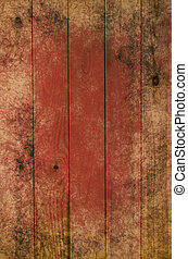 Grungy Wood Planking - Photograph of wood planking,...