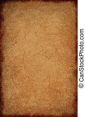 Creased Parchment Texture - Creased parchment paper...