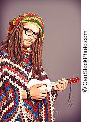 Hippie, joven
