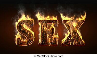 sex of fire with smoke