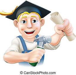 Qualified carpenter - Professional training or learning or...