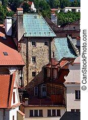Blick in Altstadt - Altstadt von Krumau