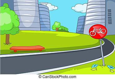 City Cartoon.