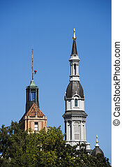 Cathedral of the Blessed Sacrament - Steeple of the...
