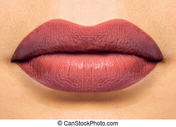 Coulored lips