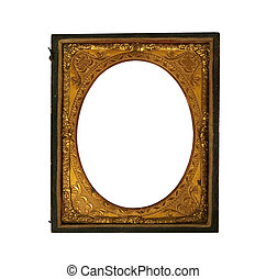 old Daguerreotype picture frame