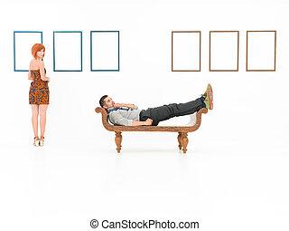 藝術, 畫廊