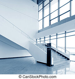 Stairs - stair in modern building