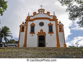 Brazil, Fernando de Noronha, church - Brazil, Archipelago of...