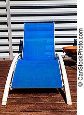 Deckchairs - A deckchairs near the swimming pool