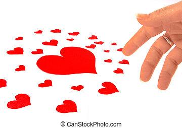 Muchos corazones - A lot of hearts - Muchos corazones para...