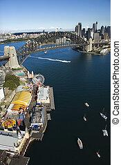 オーストラリア, 航空写真, シドニー