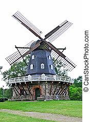 Windmill in Malmo,Sweden