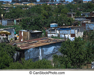 Township Soweto South Africa