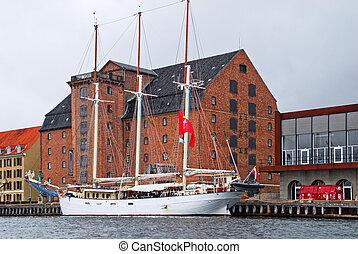 Waterfront in Copenhagen
