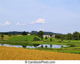 Suwalszczyzna, Poland - Beautiful landscape of Suwalszczyzna...