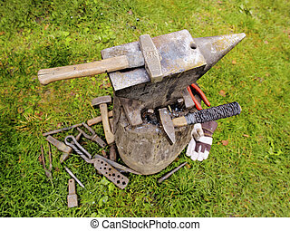 Blacksmith's Equipment - Equipment which is used by a...