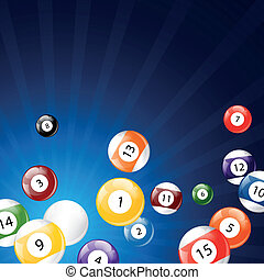 Vector Billiard Background