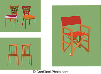 furnishings - folding chair