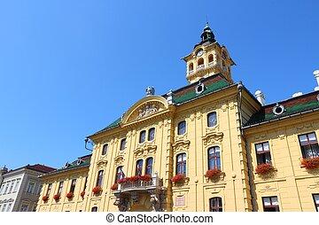 Hungary - Szeged - Szeged, Hungary. City in Csongrad county....