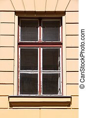 Old window in Hungary - Szeged, Hungary City in Csongrad...
