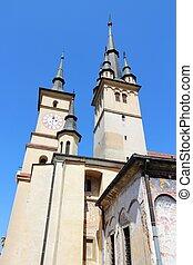 Brasov, town in Transylvania, Romania. Saint Nicholas...