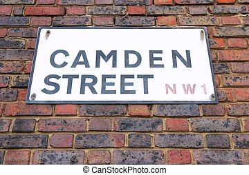 Camden Street - London, United Kingdom - Camden Street in...
