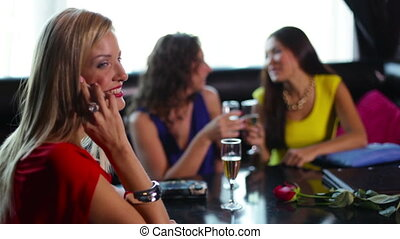 Enjoy yourself - Happy young women enjoying themselves in...