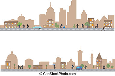 Town Vector for you design