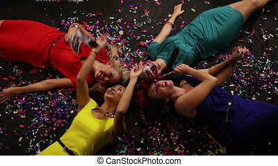 Four on the floor - The party being over but the girls on...