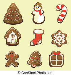 Gingerbread icons