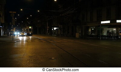 Trams in Zurich in Motion - HD 1080p - Trams are a popular...